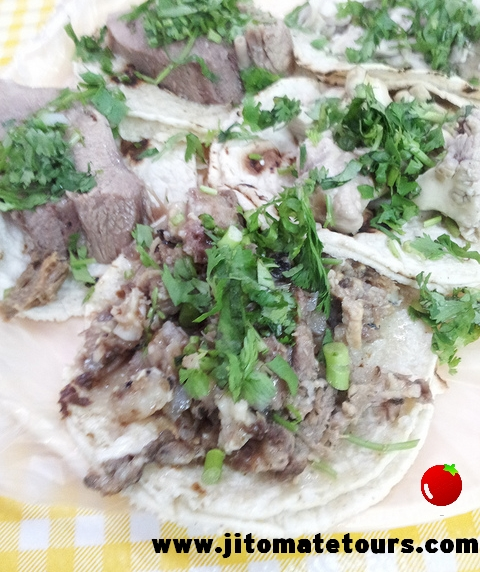 Tacos tour de cabeza night head, cabeza, lengua
